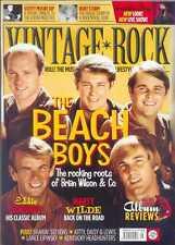 VINTAGE ROCK MAGAZINE SEPTEMBER/OCTOBER 2016 (BEACH BOYS, EDDIE COCHRAN) NEW