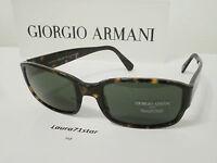 Giorgio Armani 2501 Marrone Havana Brown Sunglasses Occhiali sole Original New