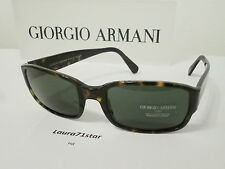 Giorgio Armani 2501 Marrone Havana Brown Sunglasses Occhiali sole Original New