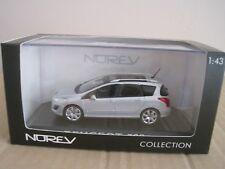 Norev PEUGEOT 308 SW in argento 1:43 modello auto