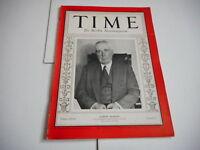 AUG 17 1931 TIME vintage magazine SAMUEL SEABURY