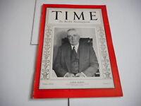 AUG 17 1931 TIME vintage magazine SAMUEL SEABURY