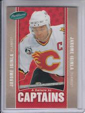 05/06 Parkhurst Jarome Iginla A Salute To Captains card #505