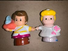 Fisher Price Little People Princess Cinderella & Prince Charming Glass Slipper