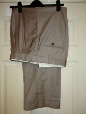 BROOKS BROTHERS GOLDEN FLEECE LORO PIANA 160's HAND TAILORED TROUSERS W36/30
