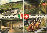 AA9051 Valle d'Aosta - Traforo Gran San Bernardo - Vedute - Cartolina postale