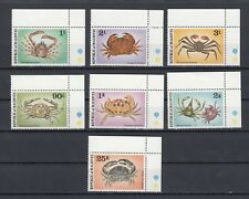 TIMBRE STAMP 7 ILES MALDIVES Y&T#720-26 POISSON CRABE NEUF**/MNH-MINT 1978 ~C53