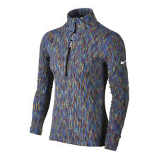 Womens Nike Long Sleeve Training Top Half Zip Size S (832052 478) Multicolour