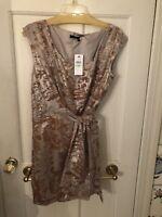 NWT Cynthia Steffe Velvet Wrap dress 8 $295