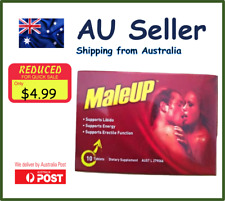 Maleup Male Support 10 tablets Exp 02 2021