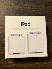 Genuine Apple iPad Camera Connection Kit MC531ZM/A Model A-1362 A-1358 (Unused)