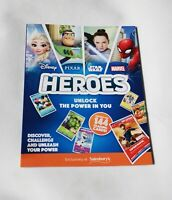 Disney Heroes Collectors Album Pixar, Marvel, Star Wars