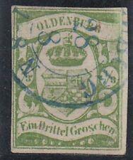 Briefmarken mit BPP-Fotobefund aus dem altdeutschen Oldenburg (bis 1945)