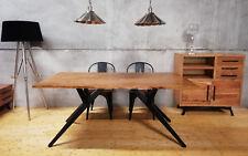Esstisch Küchentisch 160x90cm Baumkante Massiv Holz Tisch Akazie 26mm Tripod NEU