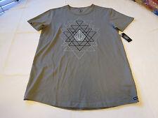 Volcom Stone logo Men's T shirt Absent S/S TEE M modern fit surf skate DGR