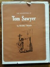 The adventures of Tom Sawyer(Large type edition- franklin watts edition)