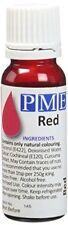 Pme 25g Rouge Naturel Alimentaire Fondant Glaçage Colorant liquide Sucre Gâteau