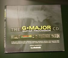 TC Electronics - G Major CD Guitar Ultimate Multi Effects Audio 28 Tracks
