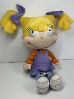 "Universal Studios 17"" Angelica Pickles Rugrats Plush Soft Toy Nickelodeon VGC"