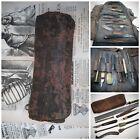 Civil War Era Antique Surgical Brass Bleeder Bloodletting Scalpel Medical Set