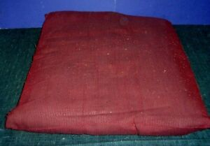 """Large Red Pillow -Small Dog Bed - 21"""" x 21 1/2"""""""