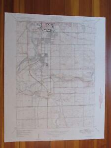 Rockford South Illinois 1949 Original Vintage USGS Topo Map