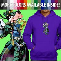Jojo's Bizarre Adventure Goofy Jotaro Kujo Pullover Sweatshirt Hoodie Sweater