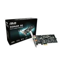 Asus Xonar SE 5.1 PCIe Gaming Soundkarte 192khz/24-bit Hi-Res Audio & 116db SNR