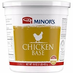 Minor's Chicken Base and Stock, Great for Soups Sauces, 0 Grams Trans...