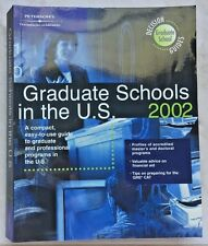 Graduate Schools in the U.S. 2002 - Peterson's Thompson Learning s#6160