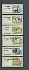 SHEEP Post Go STAMPEX 2012 HYTECH KIOSK 23 COMPLETE SET of 6 VALUES/DESIGNS L24