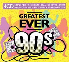 Greatest Ever 90s - New 4CD Album - Pre Order 28th Aug