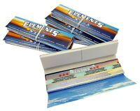 1//5/10/20 Elements Kingsize Connoisseur Slim Rolling Papers & Tips - Free Del