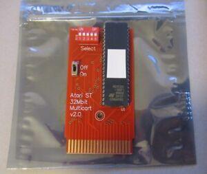 ATARI ST 32Mbit DIPSWITCH EPROM CARTRIDGE - TEST, DIAGNOSTICS, GAMES - TT STE