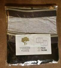 NIP New TUCKER + TATE Boxer Briefs Big Boys XL 18-20 Black & Grey 2 Pack Cotton