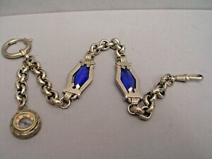 FABULOUS VINTAGE POCKET WATCH CHAIN NEW OLD STOCK 23 cm = 9.06 inches