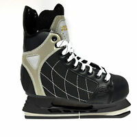 Roces RH 3  Eishockey Schlittschuhe - Senior Freizeit schwarz Iceskate Gr. 43