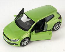 BLITZ VERSAND VW Scirocco neongrün / neongreen Welly Modell Auto 1:34 NEU & OVP