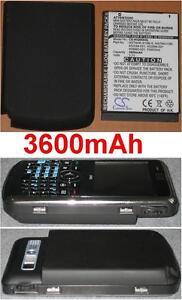 Hülle + Batterie 3600mAh Art HSTNH-I14C-K Für HP Ipaq 910 910c 914 C