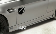 daBOSS Vinyl Decal Sticker Sport Racing car emblem logo BLACK