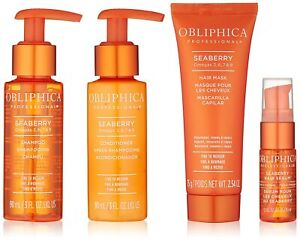 Pro Hair Care-Obliphica Travel/Gift/Trial Size-SeaBerry- Fine to Medium Hair-NIB