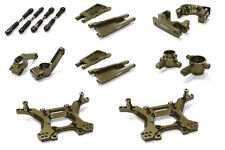 C26516GREY Integy Billet Stage 1 Suspension Kit for Traxxas 1/10 Slash 4X4 LCG