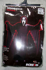 New SCREAM 4 GHOSTFACE #835 Halloween COSTUME Size Teen Standard