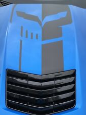 2016 C7R New Genuine GM Hood Decal Jake Skull Logo As seen on the C7R Edition