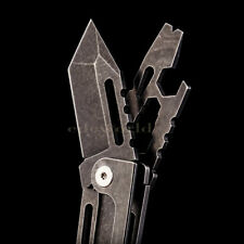 Outdoor Multi Tools Individual Tactical Knife Portable Self-defense Survival EDC