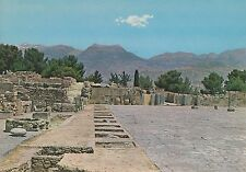 POST CARD-phaestos/The Great Central Courtyard. in the background...