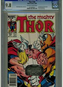 THOR #338 CGC 9.8 MINT 1983 OWTW  2ND APPEARANCE BET RAY BILL 1983 NEWSSTAND ED.