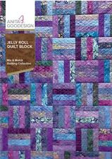 ANITA GOODESIGN - JELLY ROLL QUILT - MACHINE EMBROIDERY DESIGNS USB PES