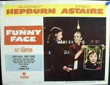 AUDREY HEPBURN FRED ASTAIRE FUNNY FACE ORIGINAL VINTAGE US LOBBY CARD