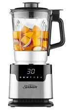 NEW Sunbeam PB8100 Soup & Smoothie Maker: Stainless Steel/Black